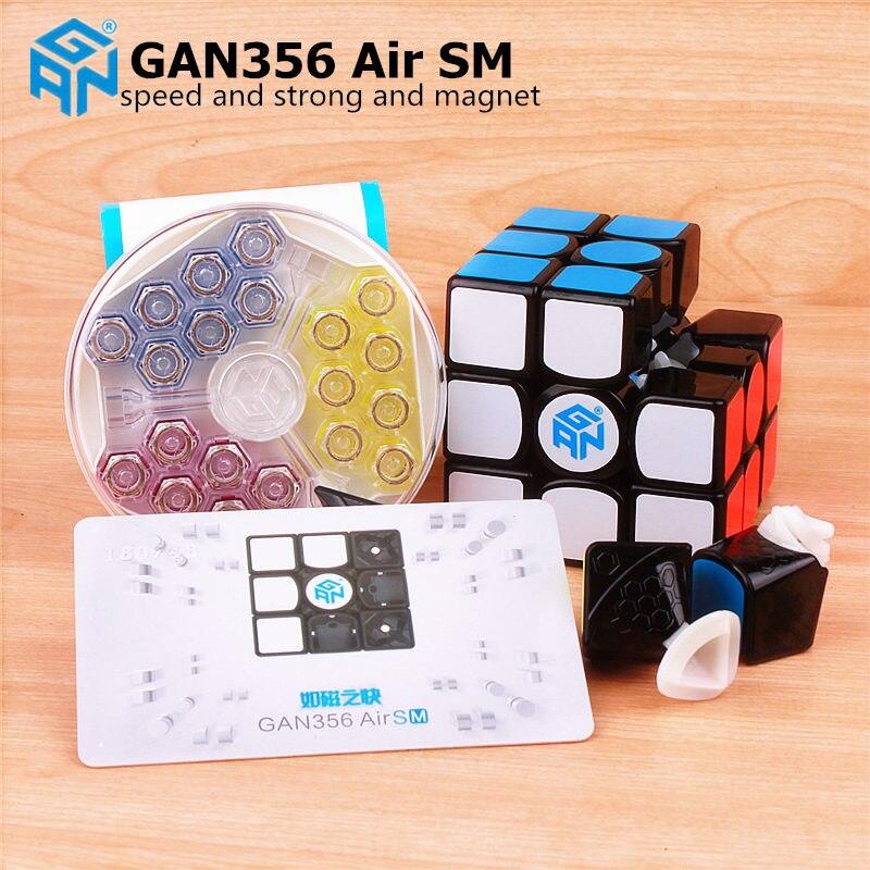 GAN 356 Air SM 3x3x3 avec magnétique puzzle magic speed cube professionnel gans 356 professionnel cubo magico Gan356 Air version 249