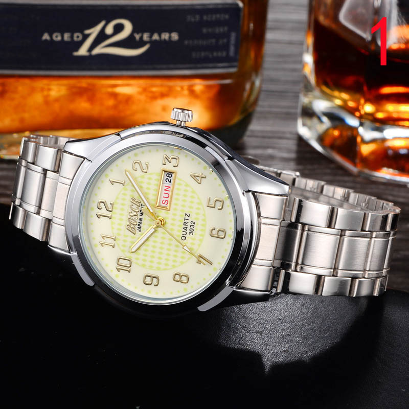 2018 new watch mens waterproof fashion Korean version of the simple casual student quartz watch non-mechanical2018 new watch mens waterproof fashion Korean version of the simple casual student quartz watch non-mechanical