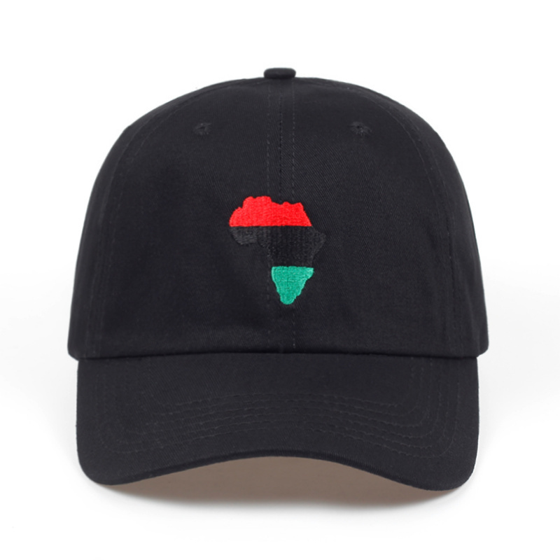 2018 new Africa map Unstructured Dad Hat Adjustable men golf   baseball     Cap   women fashion Hip-hop snapaback   cap   hats wholesale