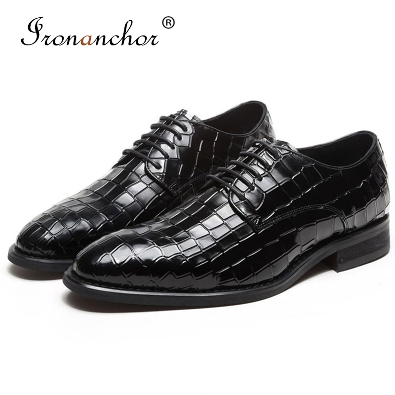 Genuine cow Leather Men formal shoes italian high quality designer luxury classic elegant men oxford shoes