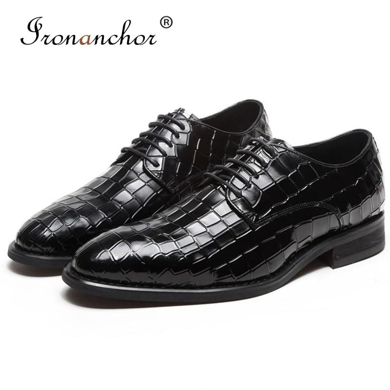 Genuine cow Leather Men formal shoes italian high quality designer luxury classic elegant men oxford shoes