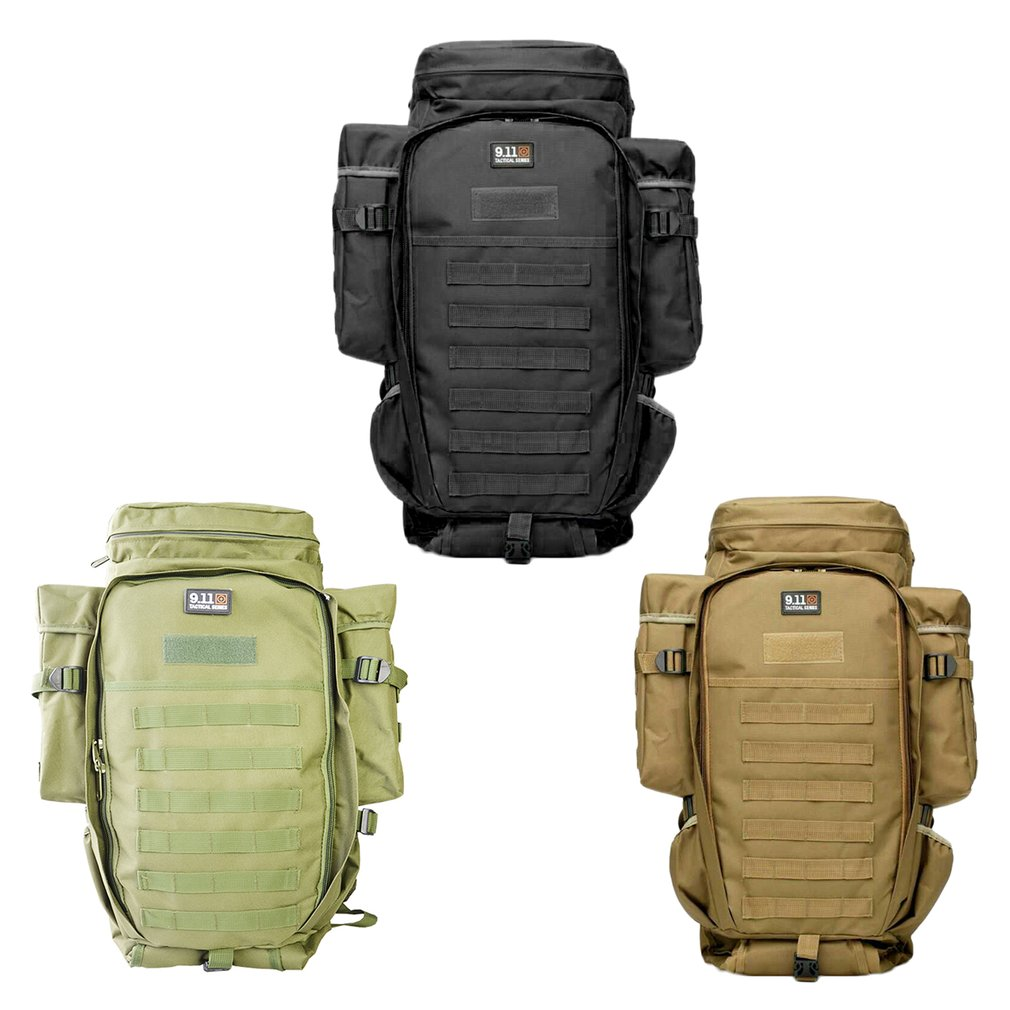 New Arrival Multifunctional Tactical Bag Outdoor Mountaineering Backpack 70L Large Capacity For Travel Hiking Sports Waterproof large capacity outdoor sports backpack travel on foot casual double shoulder mountaineering bag a5104