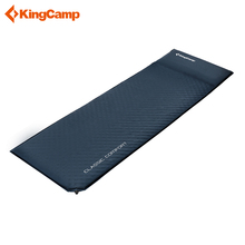 KingCamp Self Inflating Camping  Ultralight Mattress Durable Oxford PVC Sleeping Pad for Camping Hiking Sleeping mat with pillow outdoor portable camping mat self inflating sleeping pad mattress with pillow lightweight inflatable beach mat for hiking travel