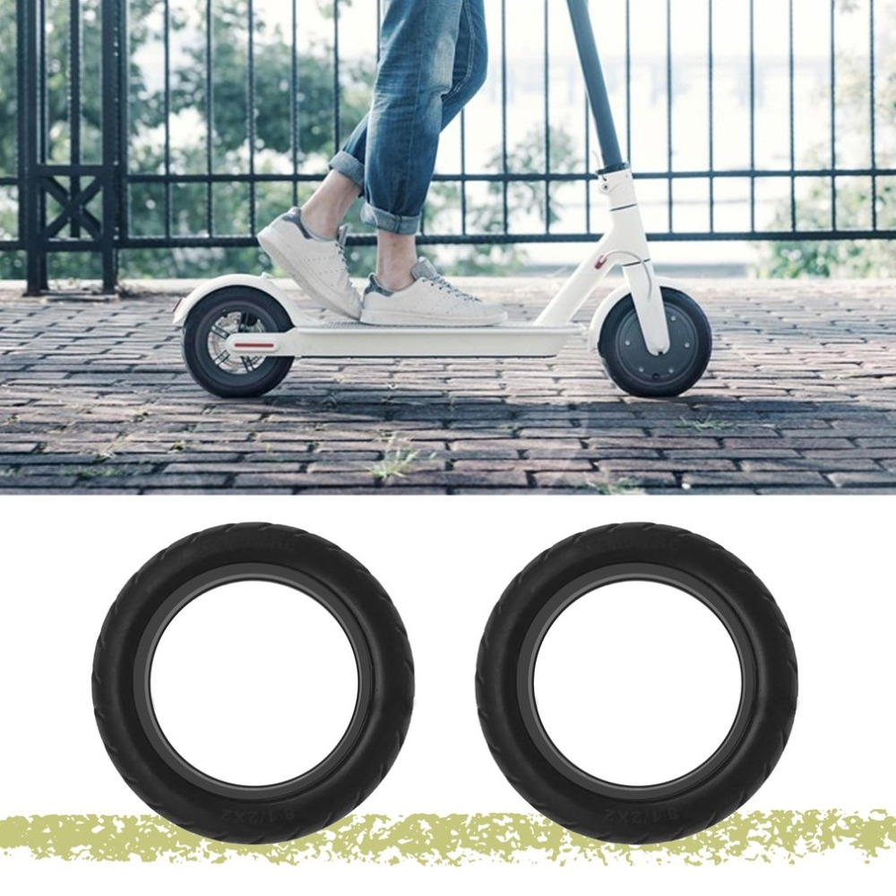 Solid Vacuum Tires 8.5X2 Micropores Suitable For Xiaomi Mijia M365 Electric Skateboard Scooter Non-Pneumatic Vacuum Wheel (2)