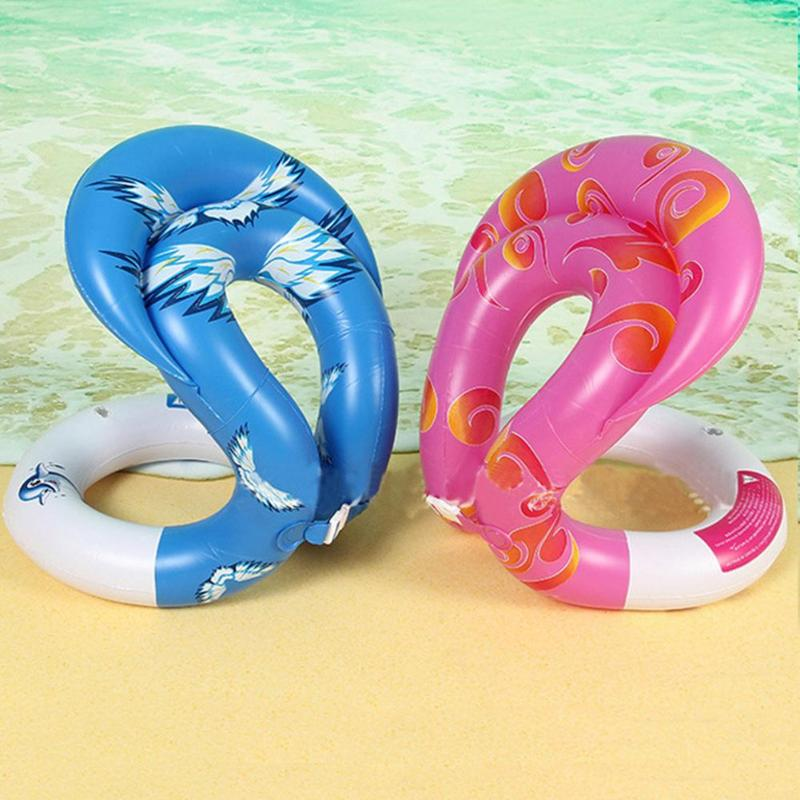 0.34mm Thick Inflatable Swim Arm Rings Pool Toys Baby Float Circle Kids Adults Life Vest Children Adult water toy Swimming Laps