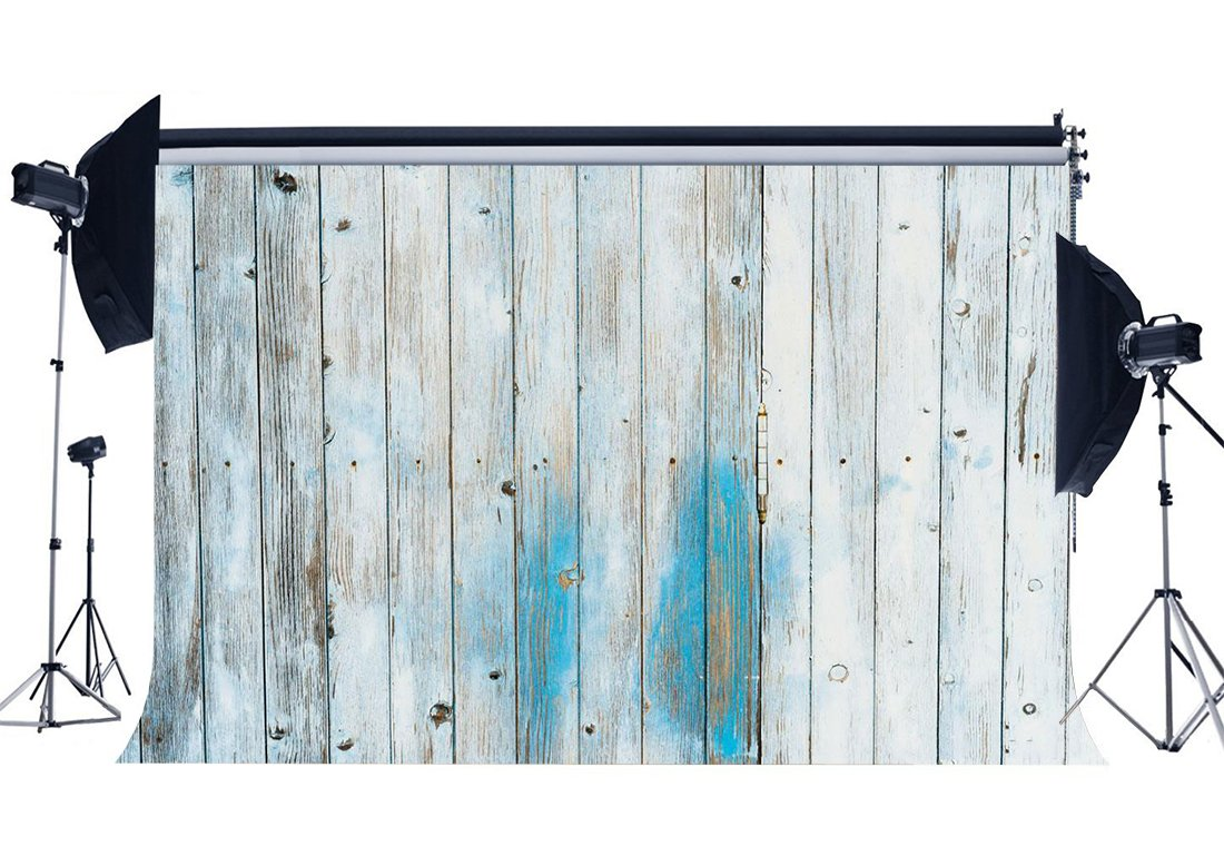 Weathered Wood Backdrop Shabby Stripes Wooden Plank with Floor Photography Background-in Background from Consumer Electronics
