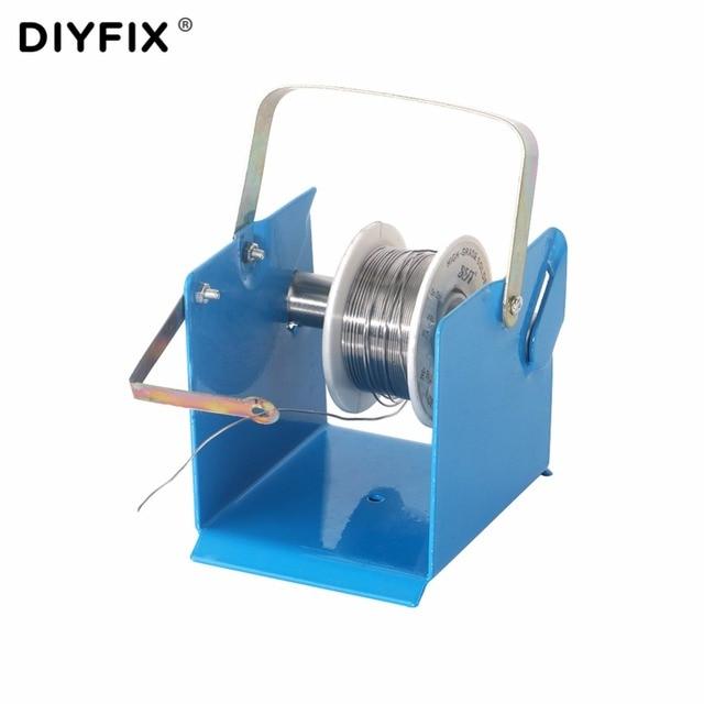 DIYFIX Tin Lead Soldering Wire Metal Holder Stand Welding Solder ...