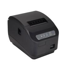 Alta qualidade 200 mm/s impressora térmica 80mm POS impressora impressora de Cozinha Cortador Automático impressora com USB + Serial/Porta Lan