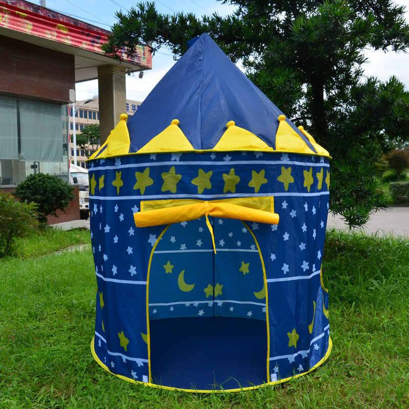Tienda de juegos portátil plegable Tipi Prince, tienda plegable, casa de juegos para niños y niños, regalos para niños, tiendas de campaña de juguete al aire libre