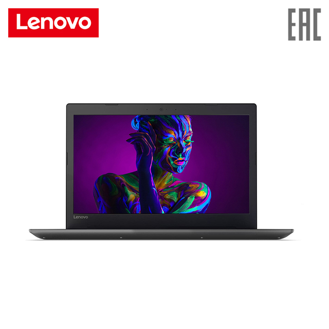 """Ноутбук lenovo 320-15AST 15,6 """"/A9-9420/4 ГБ/1 ТБ/R520M/noODD/DOS/ черный (80XV00RRRK)"""