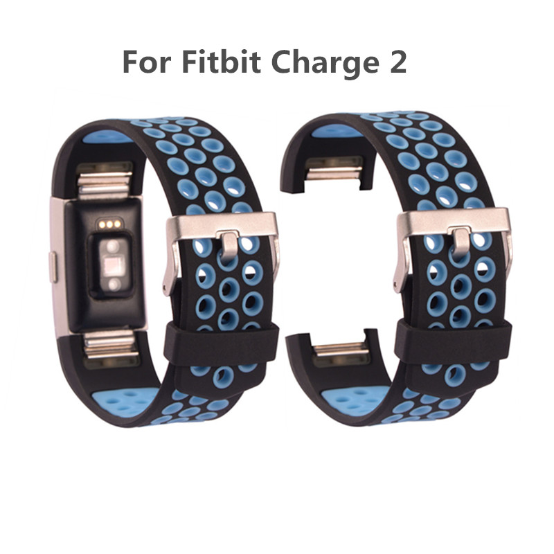 Replacement Strap Bracelet For Fitbit Charge 2 Band Strap Silicone Watchbands Smart Wristbands Smart Wearable Device Accessories