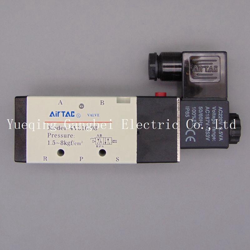 Perceuse ligne de Guide intérieur 5 voies | 1/4 électrovanne 2 positions AC110V AC220V AC380V AC24V 24V DC 12V DC