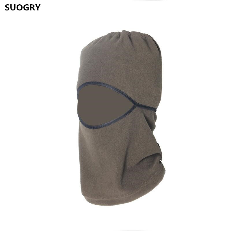 SUOGRY fleece hat thickening autumn and winter outdoor warm hat ride windproof muffler scarf CS face mask wigs cap male stylish knitted warm winter hats outdoor windproof beanies hat camping hiking men face mask scarf collars thickening cap