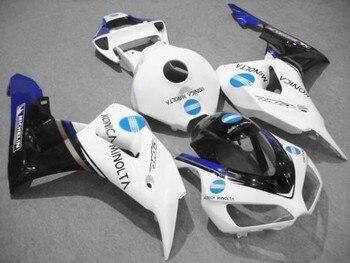 Nn-Bodywork kit for Honda fairings CBR1000RR 06 07 white blue black fairing kit motorcycle parts CBR 1000RR 2006 2007