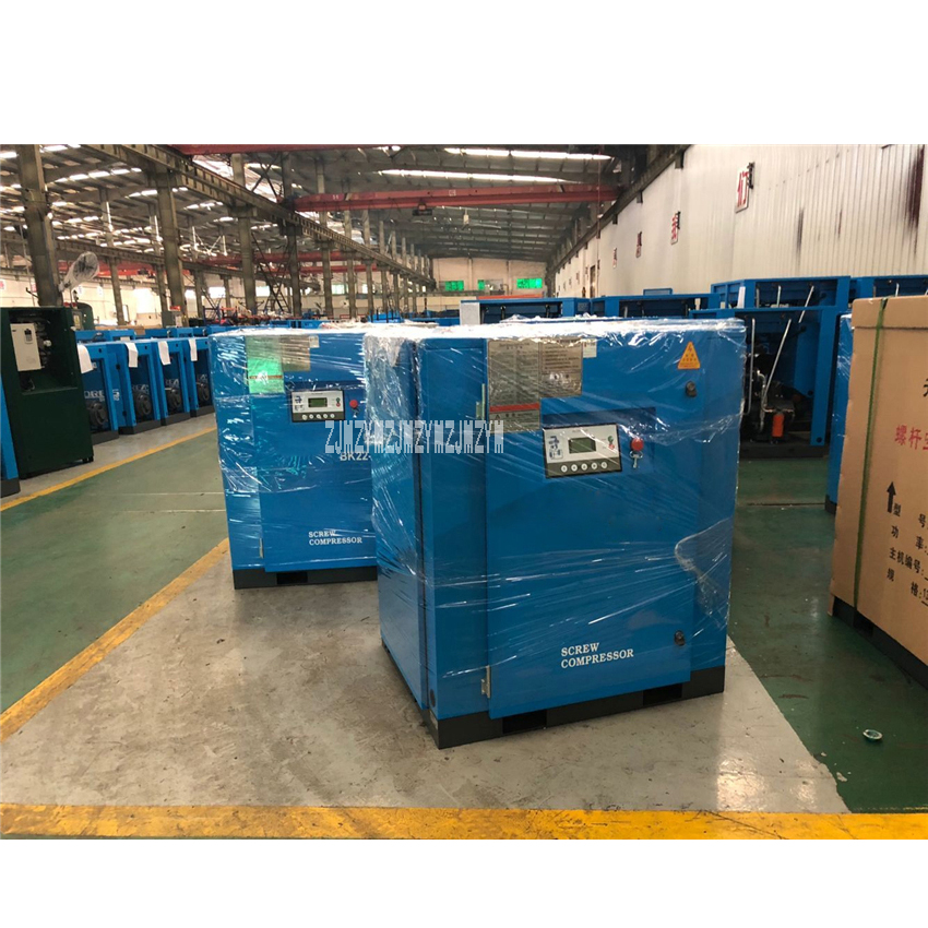 BK7.5-8G Power Frequency Industrial Air Compressor High-quality Power Tools Screw Air Compressor 0.8Mpa 1.2m3/min 7.5KW Hot SaleBK7.5-8G Power Frequency Industrial Air Compressor High-quality Power Tools Screw Air Compressor 0.8Mpa 1.2m3/min 7.5KW Hot Sale