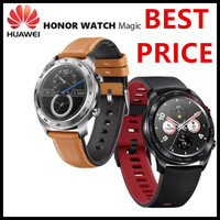 Original Huawei Honor Watch Magic Outdoor Smart Watch Sleek Slim Long Battery Life GPS Scientific Coach Amoled Color 1.2 390^2