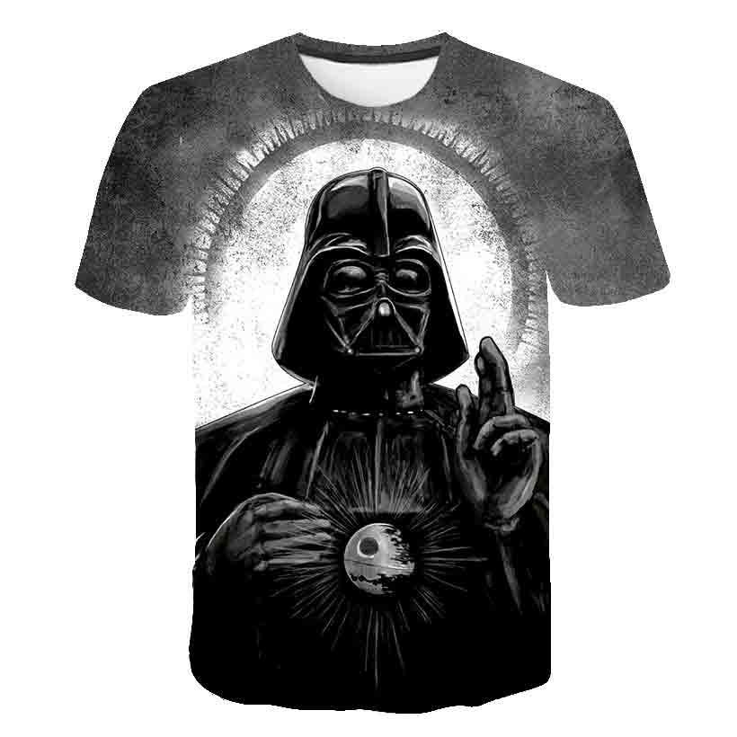 BIAOLUN Fashion Starwars Tshirt Men Women T-shirt 3D Print Star Wars Movie Tee Shirts Casual T Shirt Summer Tops Brand Clothing
