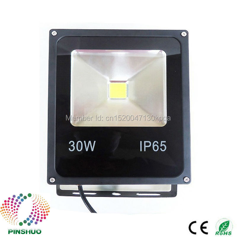 (3PCS/Lot) 3 Years Warranty Brigdelux Chip AC85-265V 30W LED Flood Light LED Floodlight Outdoor Tunnel Spotlight Bulb