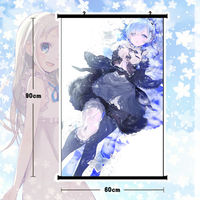 Anime Re:Rem Poster Wall Scroll Mural Home Decor Cute Gift 60*80cm