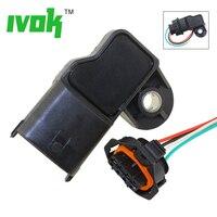 With Plug 3.5Bar MAP Sensor Turbo Boost Air Pressure Sensor For Fiat Mercedes Nissan VW 0281002456 0 281 002 456 0261230373 sensor turbo sensor sensor sensor pressure -