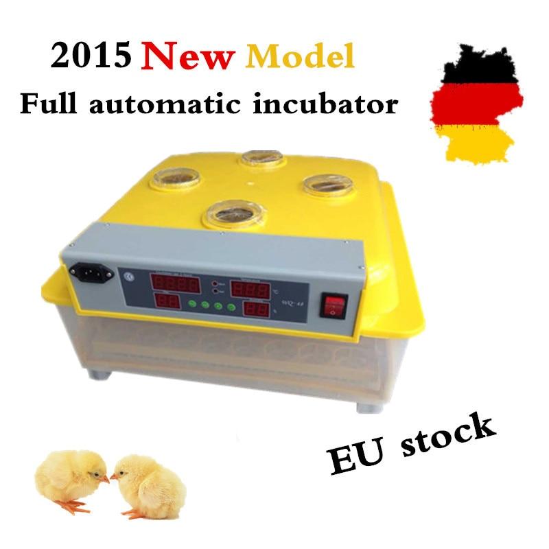 Brand Mini Egg Incubator 48 Eggs Intelligent Large Capacity Incubator Brooder for Hatching ZZ 48