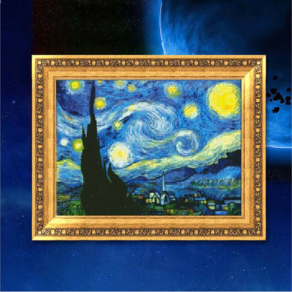 starry night and the apse mosaic Illustration in stained glass style with dream catcher and moths on a starry night sky background zagory 08-05-2018 the apse mosaic at san vitale, ravenna 6th.