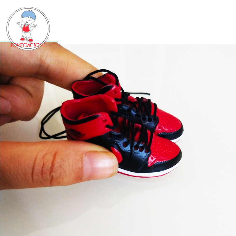 1/6 Sneakers Male Sport Shoes Model For 12 Inches Action Figures