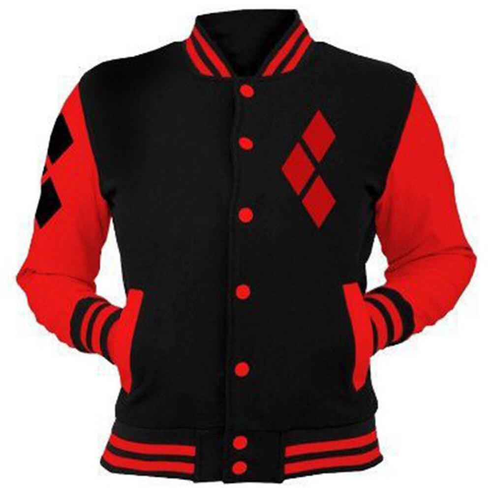 Suicide Squad Harley Quinn Hoodies Sweatshirt Hoody Hoodie Jacket Cosplay Costume