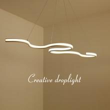 NEO GLeam Length 1200mm Modern Led Hanging Pendant Lights Dining Kitchen Room High Brightness Suspension luminaire Pendant Lamp
