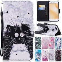Xiomi mi a1 Leather Case on for Coque xiaomi mi a1 mia1 Cover sFor Xiaomi mi A1 5x mi5x Covers Wallet Flip Stand Phone Cases Bag