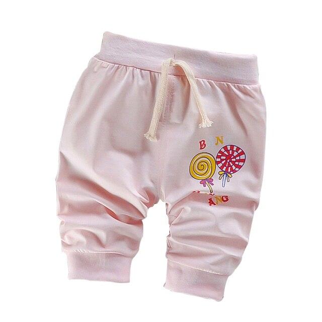 Kids Short Pants 2017 New Cotton Boys Girls Short Pants Lollipop