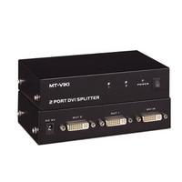 MT VIKI 2 Port DVI Splitter Distributor Video Sharing 1 input to 2 output multiple LCD monitor Synch Display MT DV2H