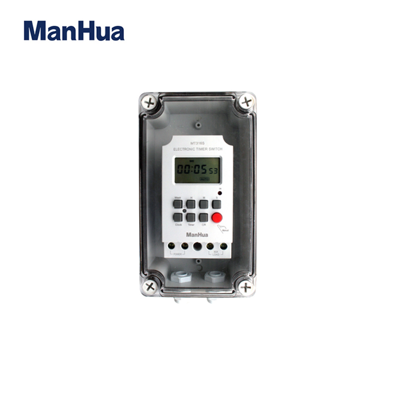 Second, Digital, Programmable, Water, Timer, With