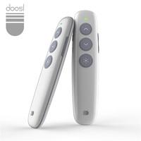 Doosl Rechargeable Wireless Presenter PowerPoint Remote Control RF 2 4GHz Wireless Presenter Laser Pointer Presentation Flip