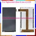 Smartphone Para Highscreen Zera S (rev. s) Moudle Pantalla LCD Monitor de Pantalla Del Panel de Reemplazo de Reparación Código de Seguimiento envío Gratis