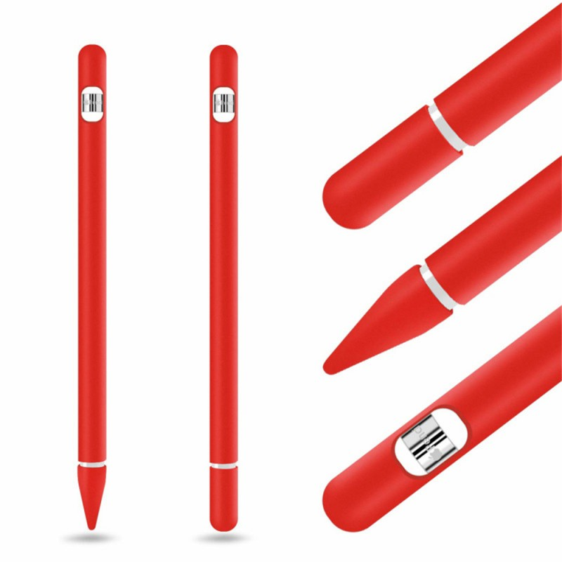 NEW Soft Silicone Compatible For Apple Pencil Case Compatible For IPad Tablet Touch Pen Stylus Protective Sleeve Cover