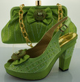 ME0069 Nice-looking African party shoes and bag to match,New upper matreial italy shoes and bag set for High quality lady dress