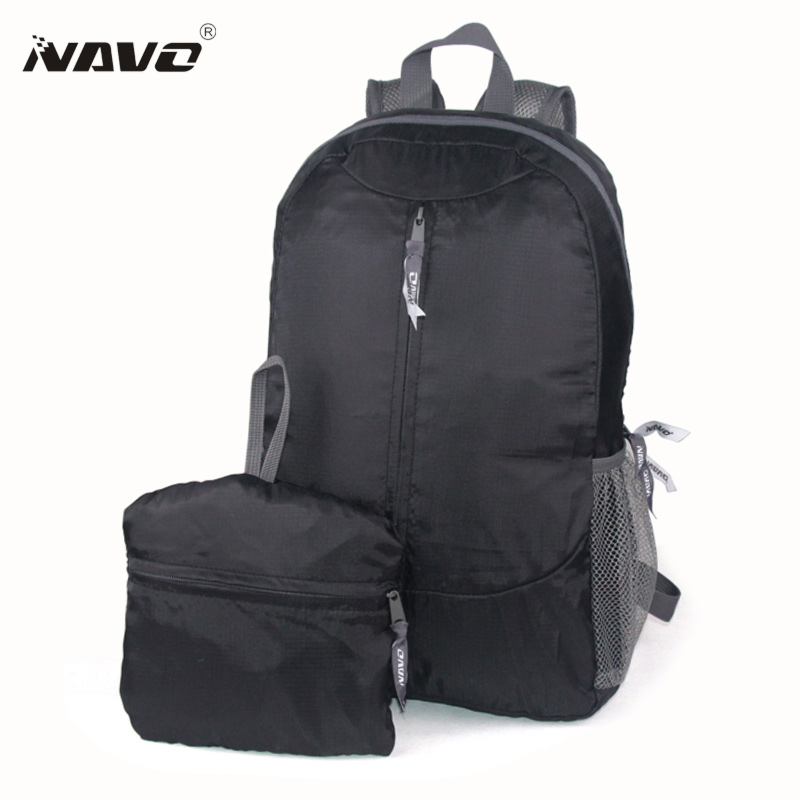 Travel Backpacks Foldable Compact Bagpack Traveling Women Men Black Backpack Shoulder Bag Folding School Bags new gravity falls backpack casual backpacks teenagers school bag men women s student school bags travel shoulder bag laptop bags