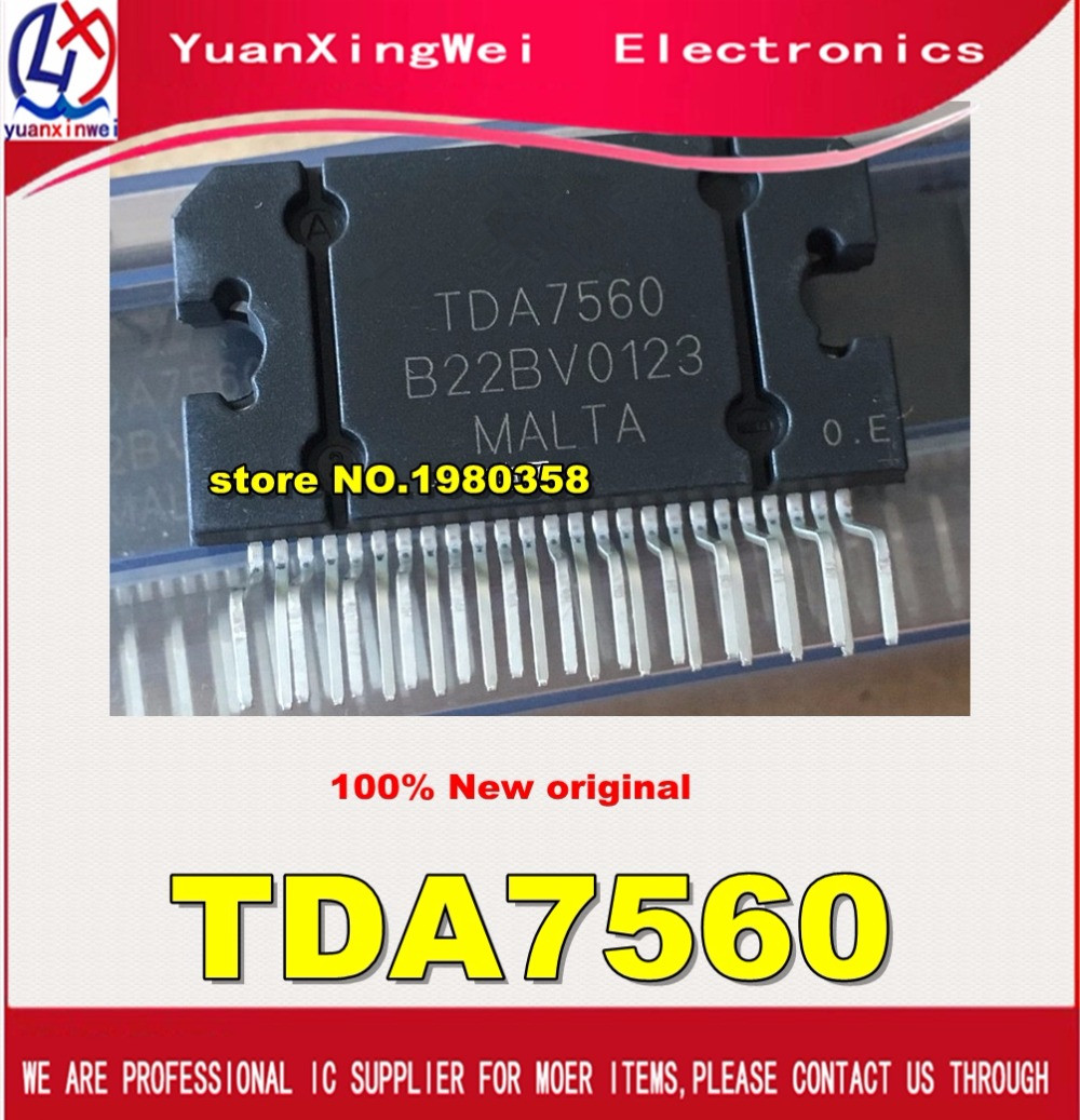 Free Shipping 1pcs/lot  TDA7560 ZIP25 100%new&original electronics kit in stock diy ic components 1pcs lot optoelectronic switch e3z d67 is new in stock