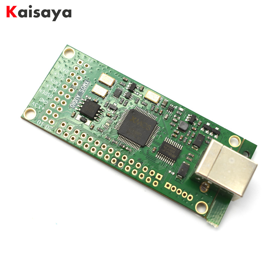 XMOS XU208 USB to I2S digital interface USB asynchronous daughter card support DSD256 IC XU208-128-TQ64-C10 for HiFi amplifier