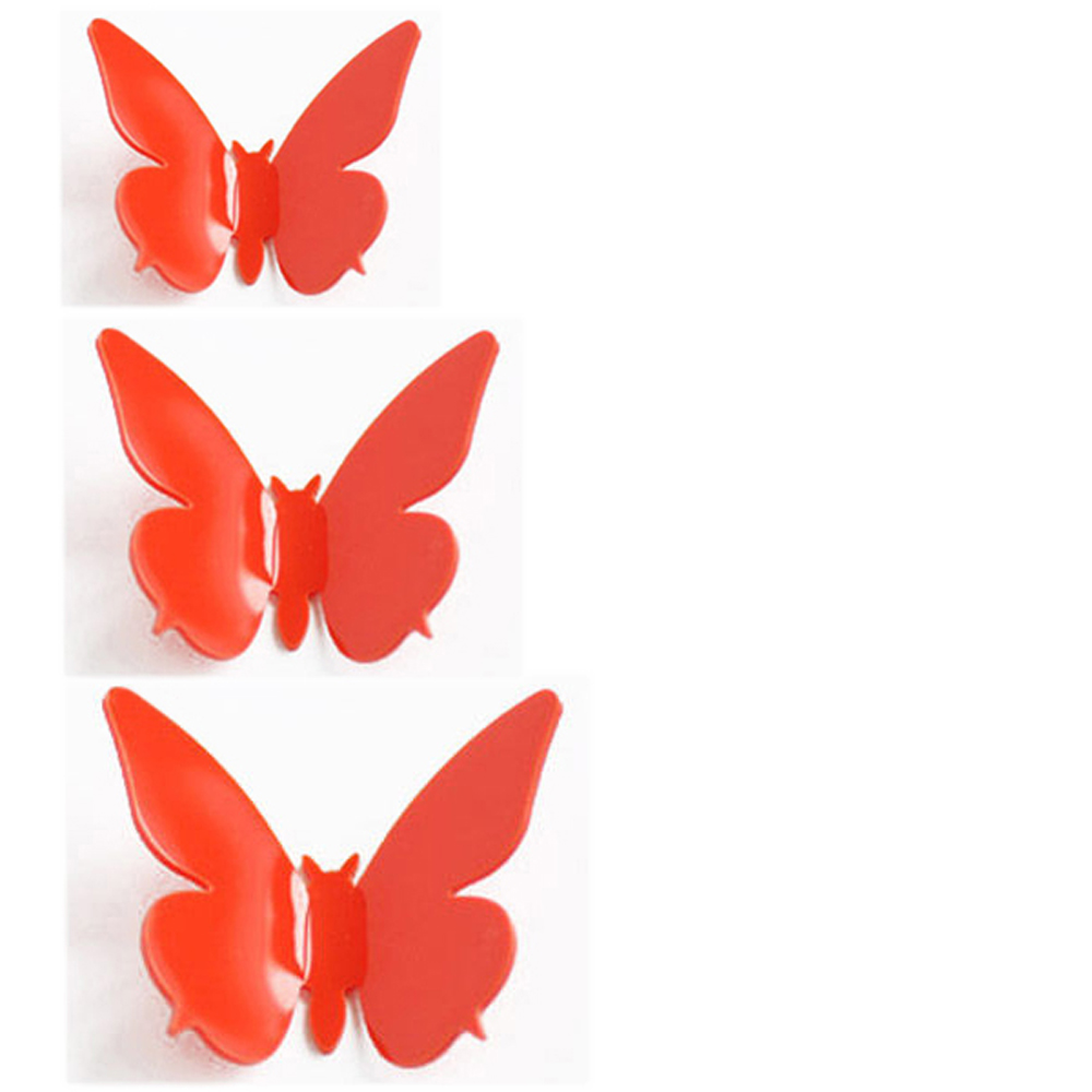 Fashion 3D DIY Wall Sticker Stickers Butterfly Home Decor Room Decorations US