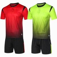 2017 Soccer Jerseys Men Kids Football Kits Badminton Training Suit Table Tennis Sportswear Short Football POLO