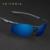 Homens óculos de sol polarizados veithdia revestimento de espelho óculos de sol óculos de condução de alumínio e magnésio masculino óculos acessórios para homens 6588