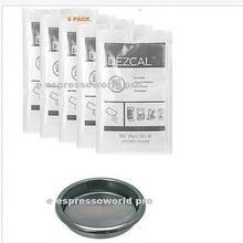 URNEX DEZCAL Кофеварка и эспрессо DESCALER-5 пачек и заднего диска слепой