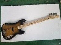 Наивысшего качества реликвия 4 струны старой используется старинные исчез электрическая бас гитара ash тела precision bass музыкальный инструмент