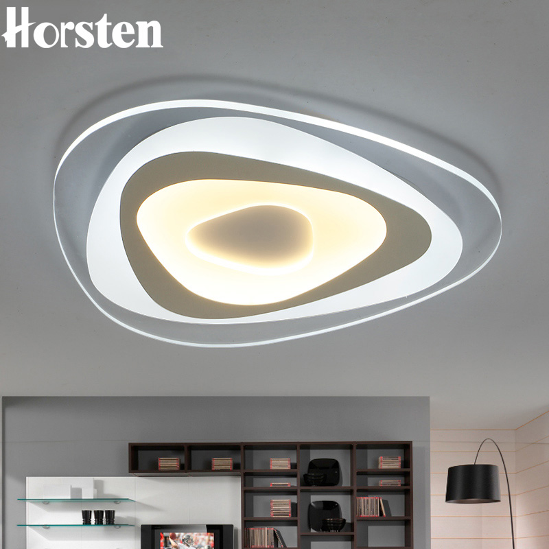 Horsten Modern Ultra-thin Acrylic Ceiling Lamp Simple Creative Triangle LED Ceiling Light For Bedroom Living Room Dining Room 0 12m autumn fleece baby rompers cute pink baby girl boy clothing infant baby girl clothes jumpsuits footed coverall gl001740695