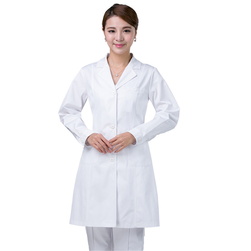 White lab apron