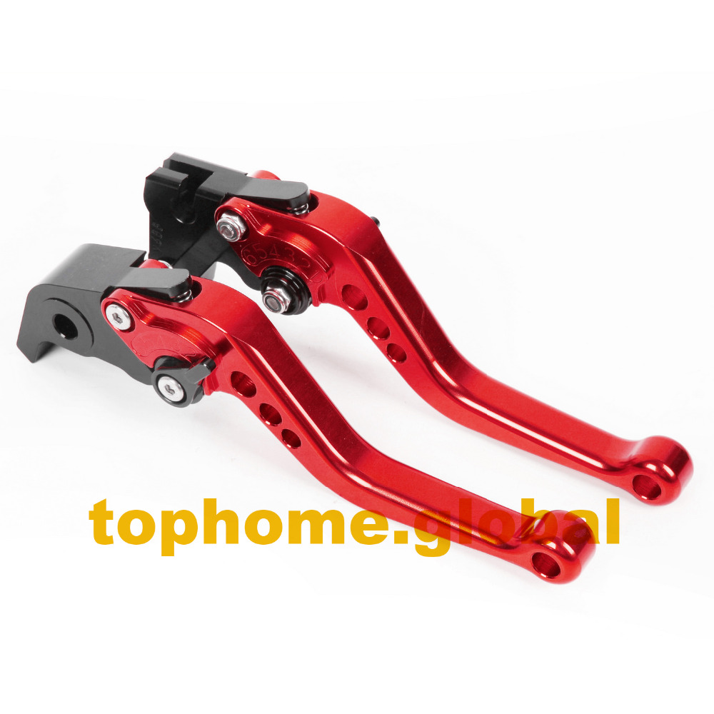 For BMW F800R 2009 - 2016 CNC Red Short Clutch Brake Levers Adjustable Motorbike Accessories 2010 2011 2012 2013 2014 2015