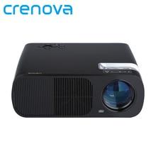 Crenova XPE600 Brillo 2600 Lúmenes Larga vida LED Full HD LED de Viajes de Negocios Al Aire Libre proyector De Ordenador TV Teléfono Móvil