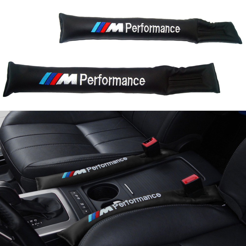 2x Car styling Car Seat Gap Filler For BMW E46 E39 E38 E90 E60 E36 F30 E30 E34 F10 F20 E92 E38 E91 E53 E70 X5 X3 Car Accessories